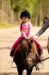 Ponny ridning Sälen