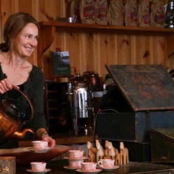 Lindvallens fabod kaffe servering
